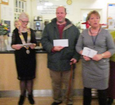 Cheque Presentation December 2016 - Providing long term rehabilitation opportunities for young stroke survivors and their carers