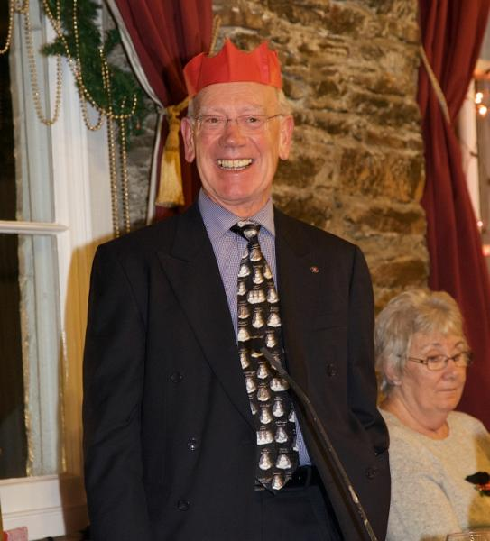 OUR CHRISTMAS PARTY - President Brian wishes all a 'Merry Christmas'