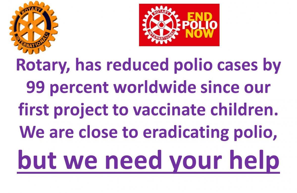 Coffee Morning for End Polio Now  -