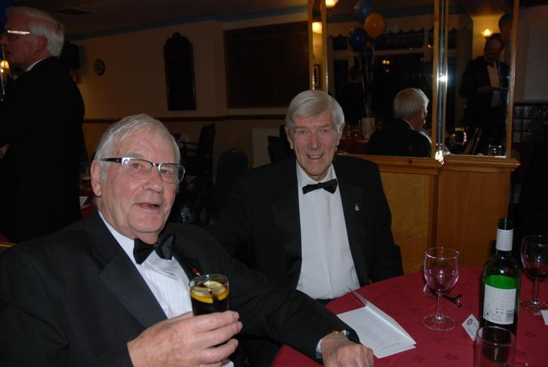 CHARTER DINNER 2016 - Two Octogenarians enjoying the night.