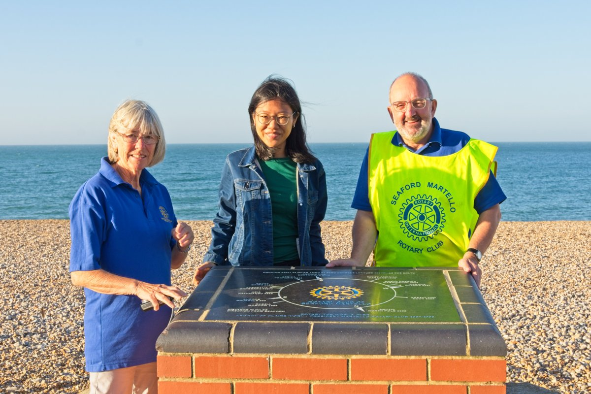 Martello Rotary Welcomes Global Rotary Scholar - 190921DSC 8389