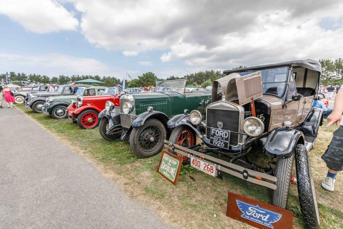 The Best Ever. - 1926 Model T Ford and other veteran cars