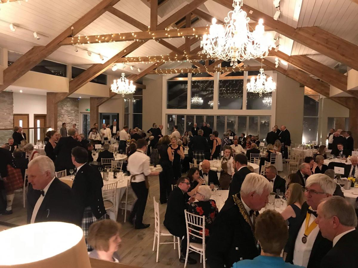 The Rotary Club of Kircudbright 70th anniversary charter dinner - 192D581D-E186-4351-ADE6-461B58085015