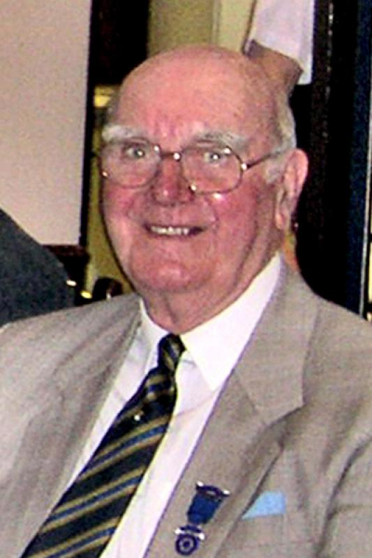 Brigg Rotary Club Past Presidents - 1977-Maurice-Henry1