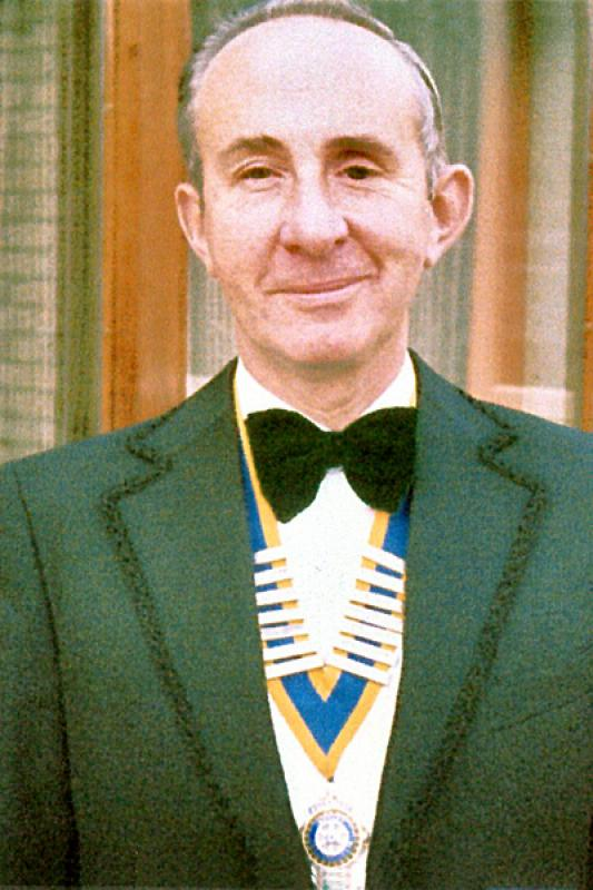 Brigg Rotary Club Past Presidents - 1983-Brian-Lait