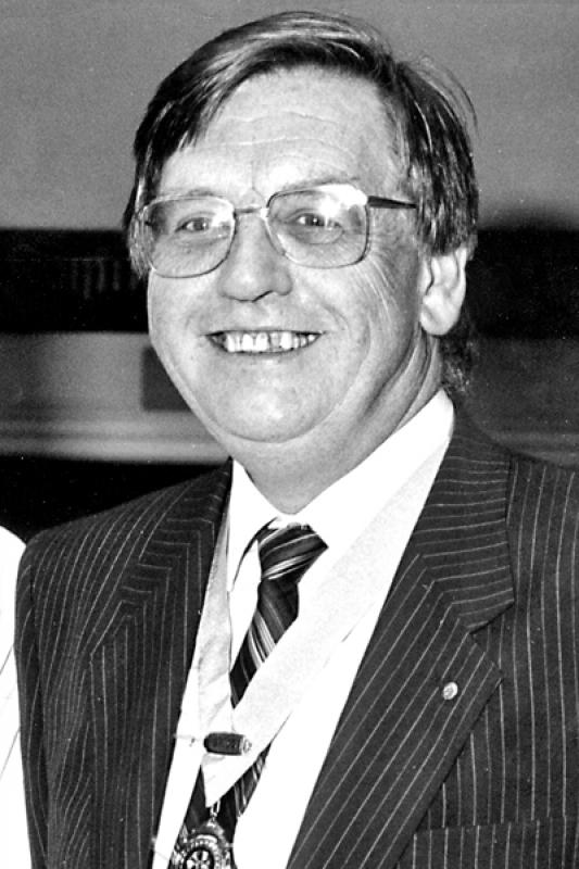 Brigg Rotary Club Past Presidents - 1987-John-Bailey