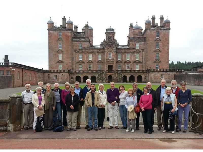 ABOUT Rotary Keswick - Participants in a tour of Dumfries and Galloway for club members