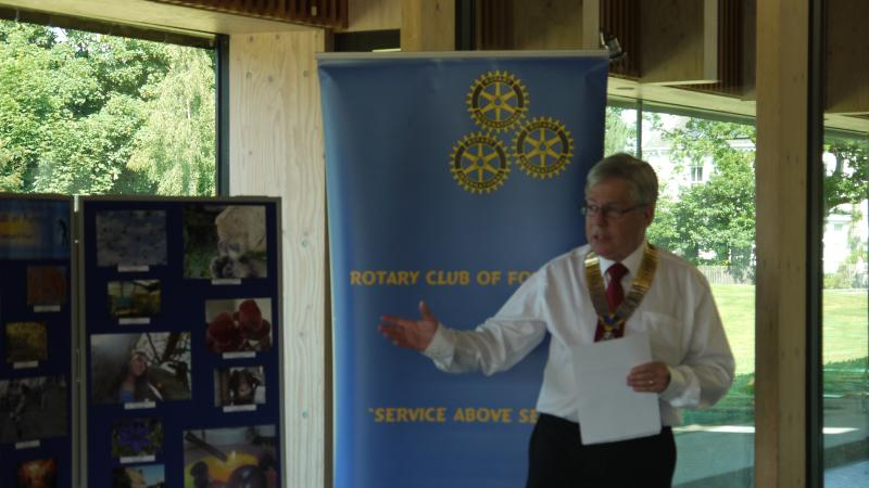 40th Anniversary of Rotary Club of Fleet - July 2001 - 1 92