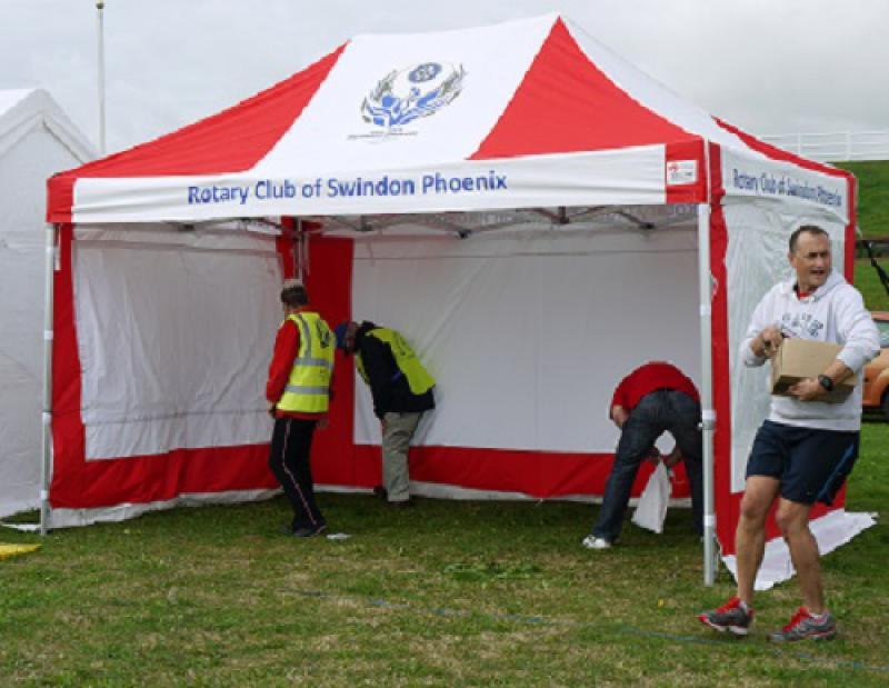Horseless Steeplechase: 4 August 2013 - 1 Rotary Tent