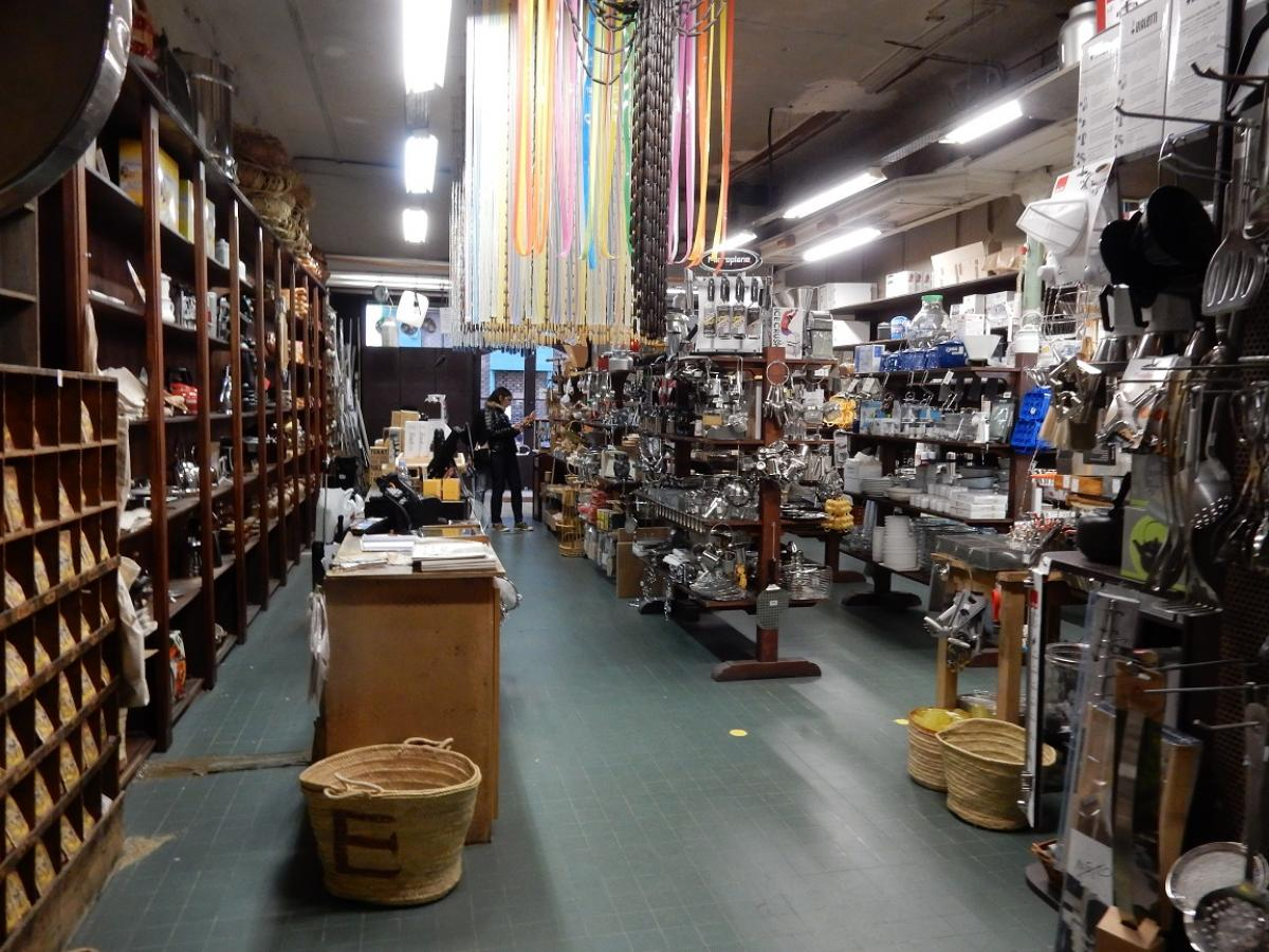 TuT International Visit 2019 - Inside Maison Empereur hardware store