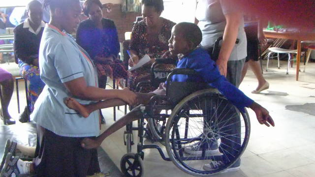 Wheelchairs for Uganda, South Africa & Lesotho - 2