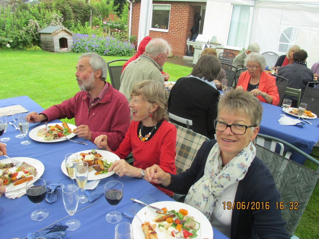 Visit from Odal Rotary Club, Norway - 20 Looks good