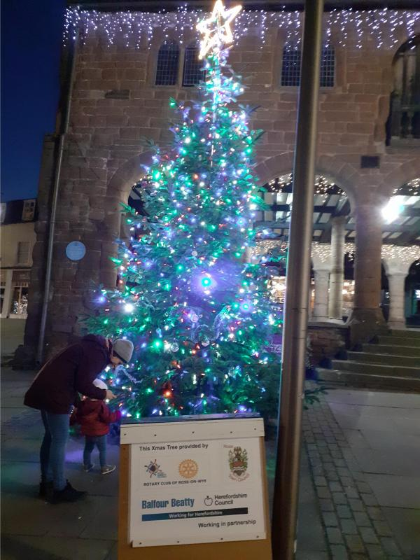 ROSS TOWN CHRISTMAS TREE - Members of the public appreciation!