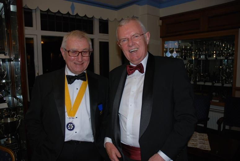 CHARTER DINNER 2016 - Adrian and Pat, happy posers.