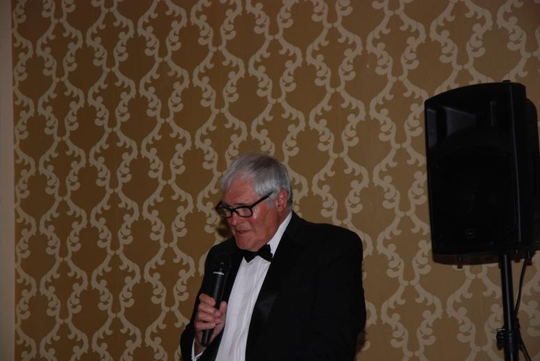 Gerry's Celebration Commemorative Dinner - Chairman of the Trustees Jeff Meadows gives his Closing Remarks - So it's Goodnight from him.