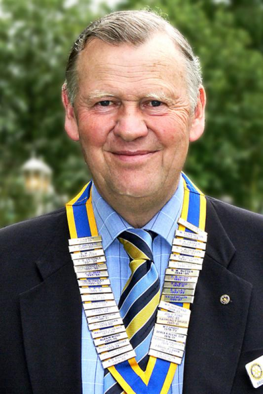 Brigg Rotary Club Past Presidents - 2007-Arthur-Borrill