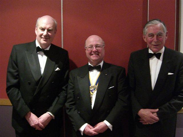 Charter Night 2008 - President Bill with His Excellency and Sir David Barnes