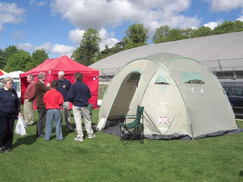 Rotary Shelterbox Tent