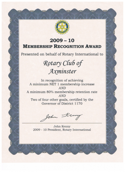 Recognitions -
