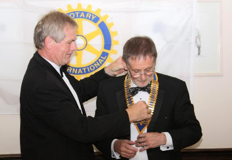 Club PhotoGallery - 2012 Charter Night and Handover to new club President David Smith