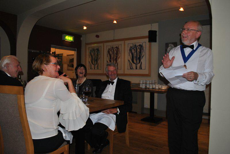 7:30pm PRESIDENTS NIGHT at the Clive Hotel, Ludlow - Norman's joke telling