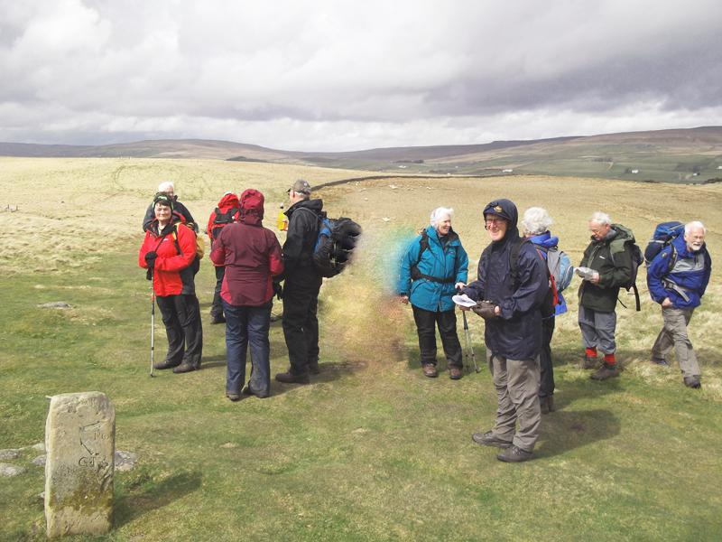 2013 Alan Hurst Walk Teesdale Way - 201305 Teesdale Way for programme