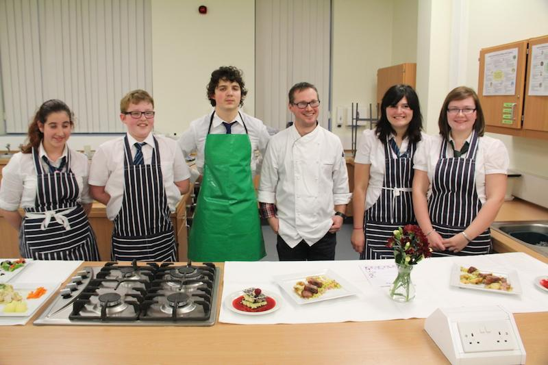 Ailsa Repeats Young Chef Success in 2014 - Five successful chefs and a very impressed judge