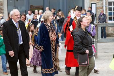 Mayday - The Rotary President, The Chief Bard and The Mayor