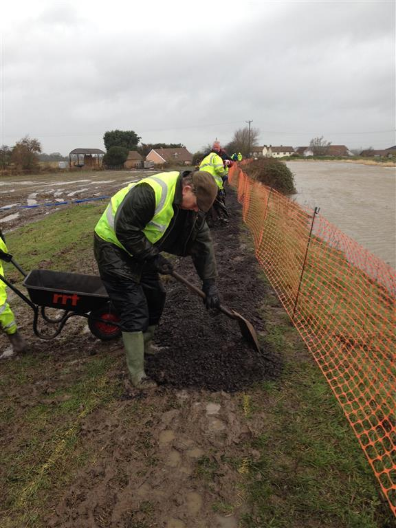 How we provide support at home - Hands on help for the 2014 flooding on the Somerset Levels