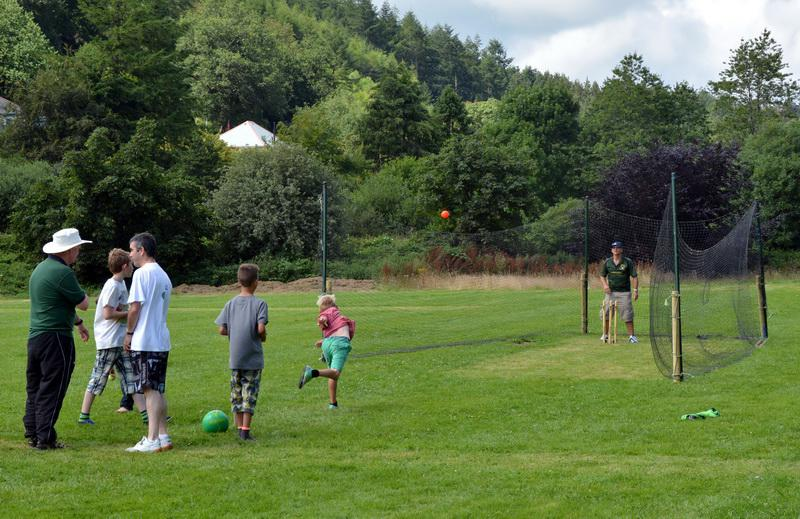 2014 Lostwithiel Carnival Week - It Was Even Good Enough For Cricket