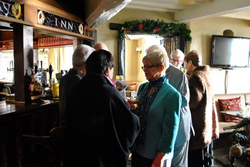 12.45 for 1pm Rotarians Golfing Xmas Lunch  - At the bar 2