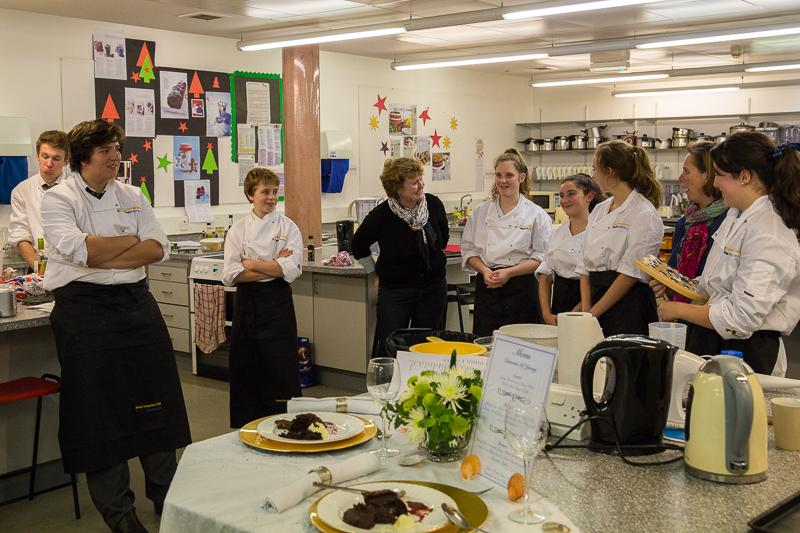 Rotary Young Chef 2014-15 - Jersey Final November 2014 - All over and everyone is a winner, the standard was so high.