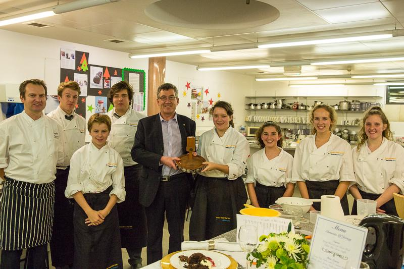 Rotary Young Chef 2014-15 - Jersey Final November 2014 - Smiling to the end, well done all.