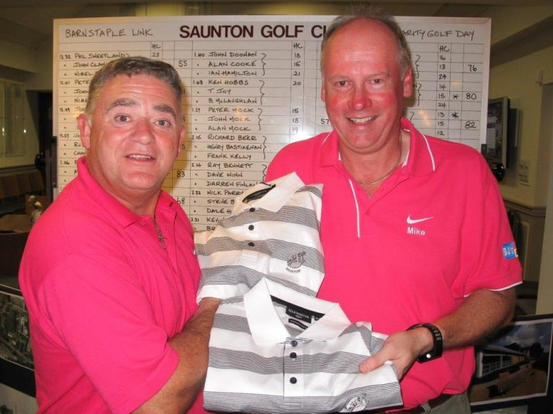 BARNSTAPLE LINK ROTARY GOLF DAY - 2015 Golf Day w