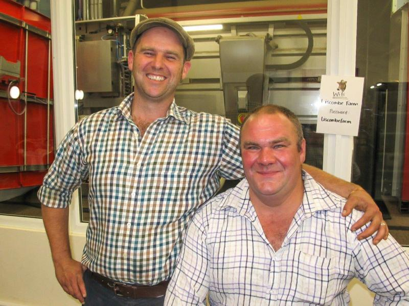 UELI'S EVENING AT LISCOMBE DAIRY FARM -