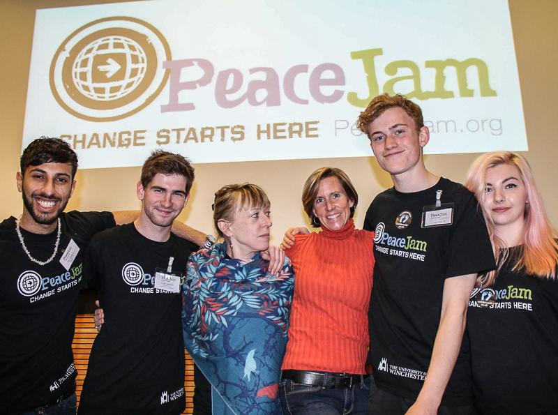 Jersey Students at PeaceJam UK Conference March 2015 - Conference Organiser and Rotaractor.
