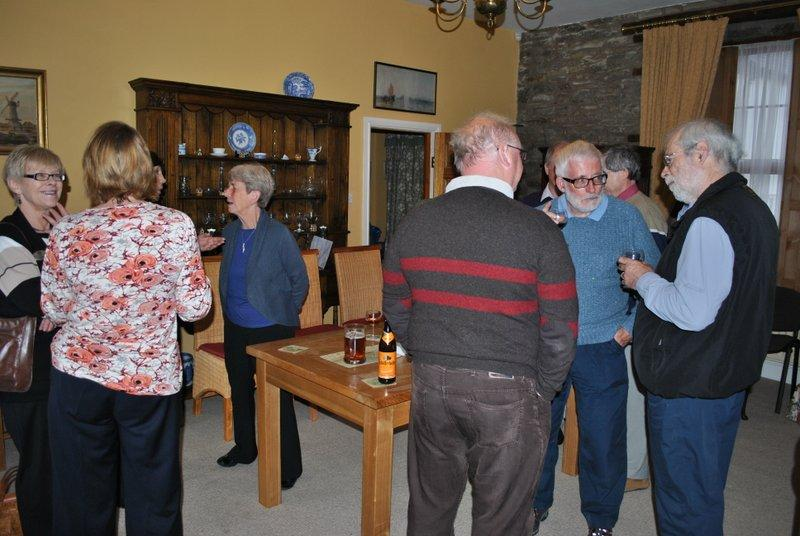 Literary evening at Ffrydd House Knighton - Before we settle down 1