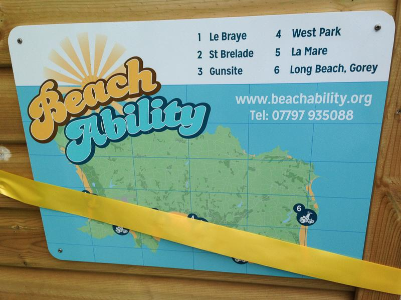 BeachAbility  - The six locations.