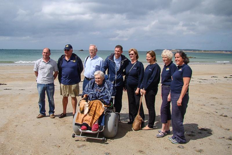BeachAbility  - The team celebrating a job well done.