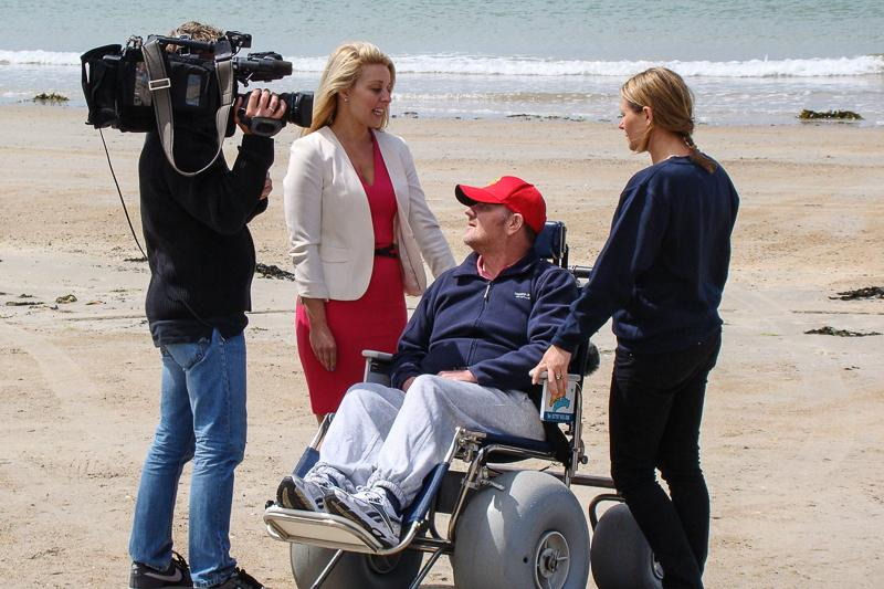 BeachAbility  - and also a wheelchair user.