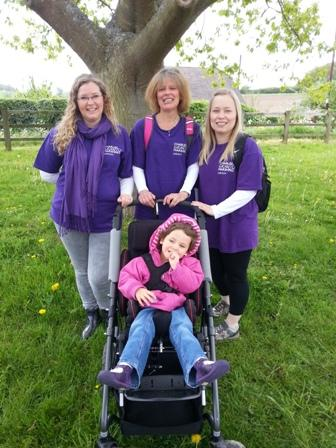 Charity Walk 2015 - with Baby Faye