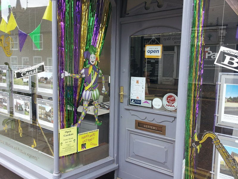 mardi grass competition -