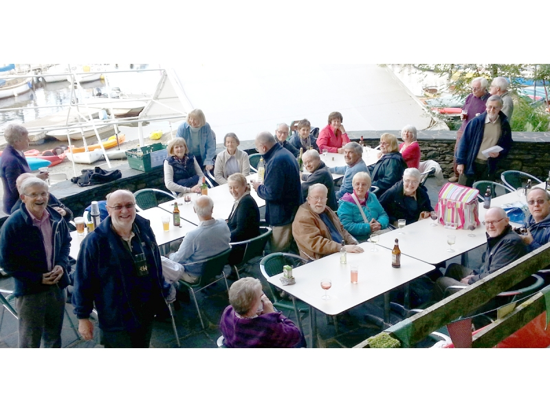 ABOUT Rotary Keswick - A barbecue by Derwentwater raised funds for a Sri Lankan Charity in 2015