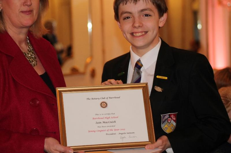 Annual - Young Linguist & Euroscola Awards 2015 - Young Linguist Winner 