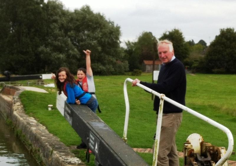 2015 Community Barge Trips - ..supervising