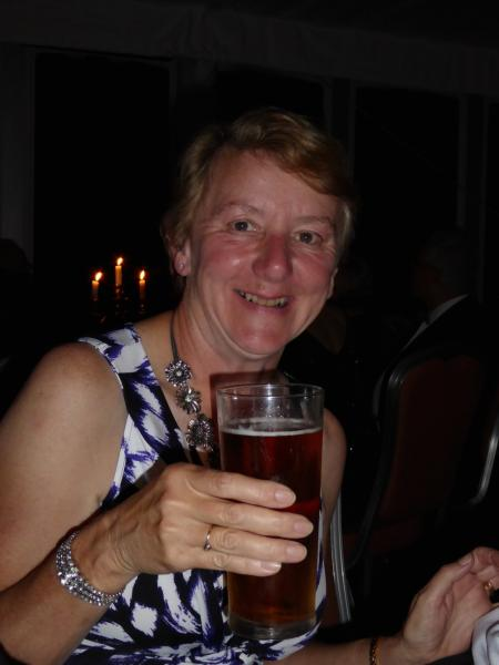 District 1200 Conference 2015 - Judith likes pints