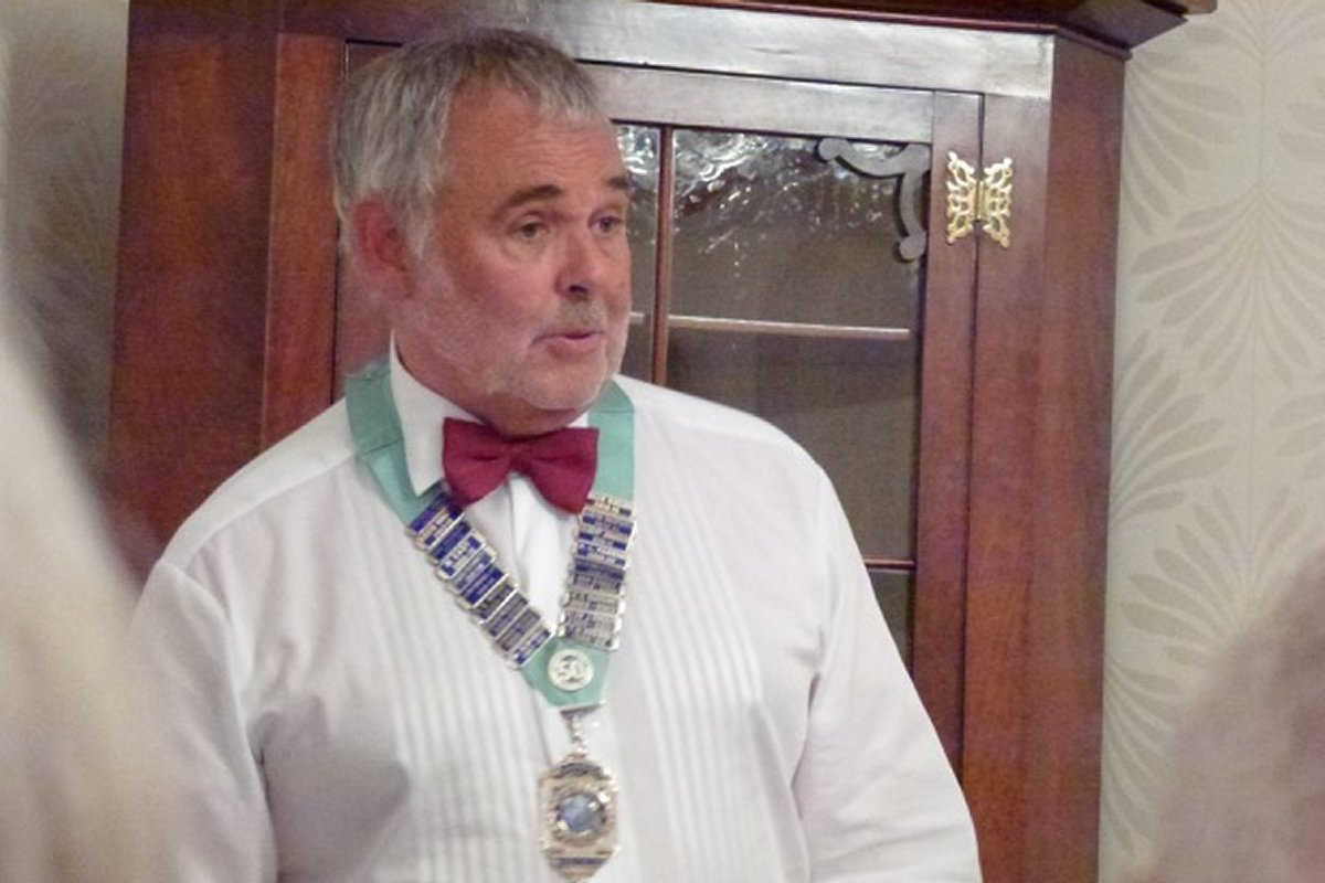 Millom Club Charter Dinner 2016 - District President Malcolm Baldwin's speech