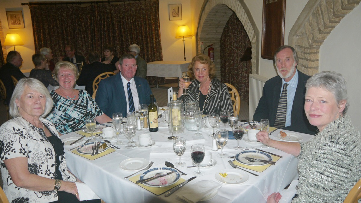 Visit by the Rotary Club Wijk bij Duurstede from Holland - Minchinhampton Golf Club 09