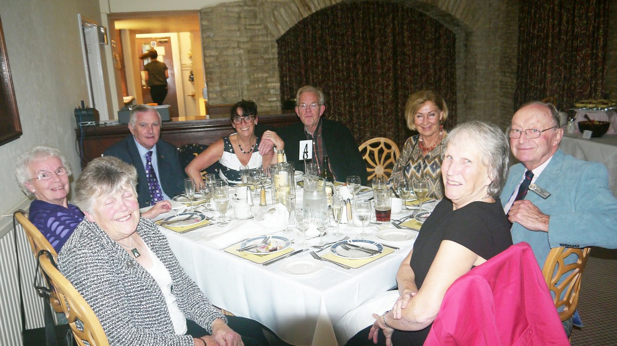 Visit by the Rotary Club Wijk bij Duurstede from Holland - Minchinhampton Golf Club 10