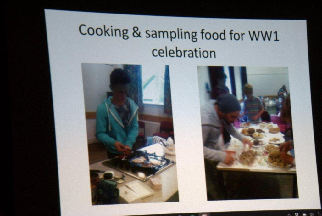 Dinner and speaker at the Baron - Cooking for celebrations